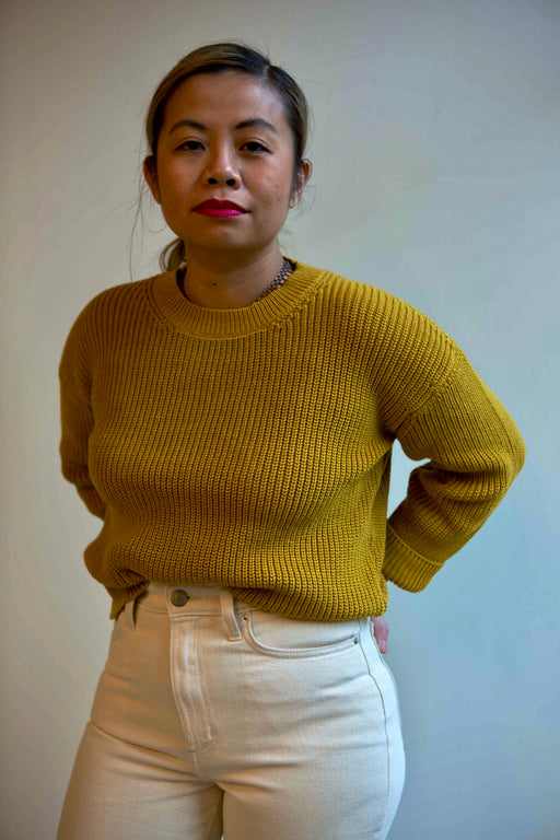 Sunflower cotton sweater