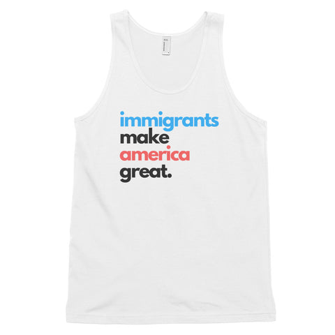 Immigrants Make America Great Men's Tank Top