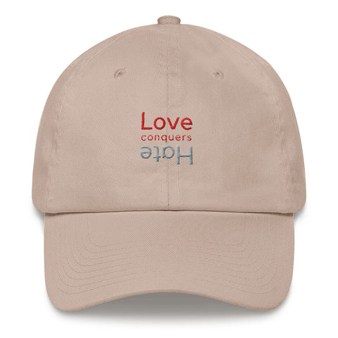 Love Conquers Hate Cap