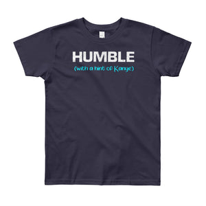 Humble With a Hint of Kanye Youth Tee