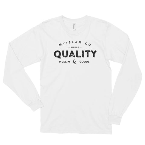 Quality Muslim Goods Long-Sleeve Shirt