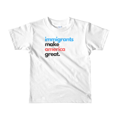 Immigrants Make America Great Kids Tee