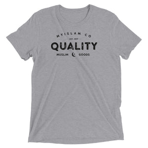 Quality Muslim Goods Triblend Tee