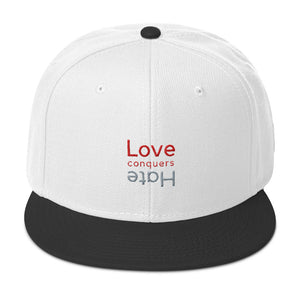 Love Conquers Hate Snapback