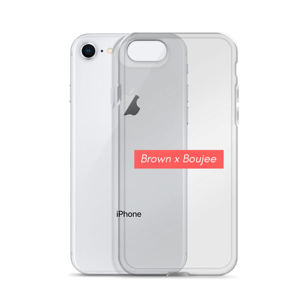 Brown x Boujee iPhone Case