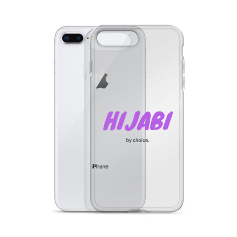 Hijabi By Choice iPhone Case