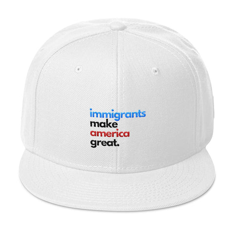 Immigrants Make America Great Snapback