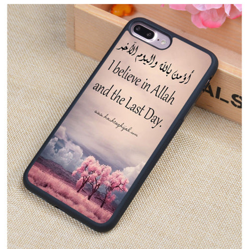 I Believe in Allah and the Last Day Soft Rubber Phone Case