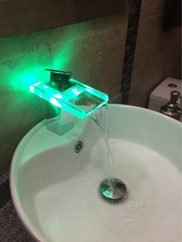 Modern Chrome LED Faucet