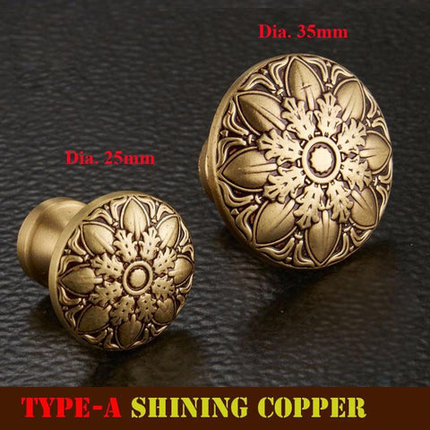 Copper Knobs