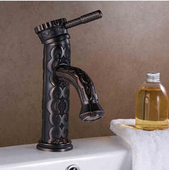 blackened oil rubbed royalty faucet