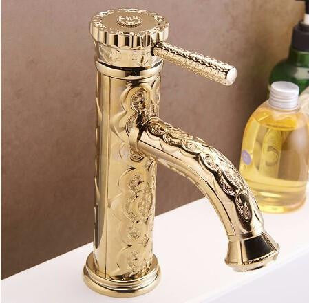 golden royalty faucet