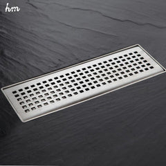 30x10cm Stainless Steel Drain