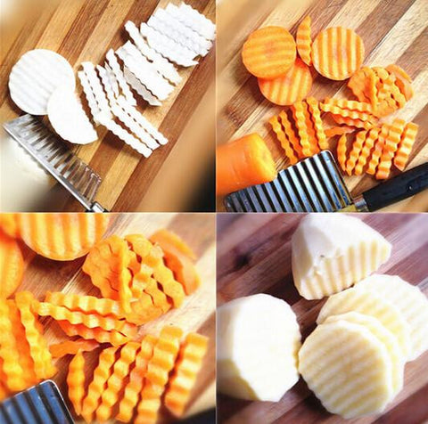 ruffle knife carrots potatoes
