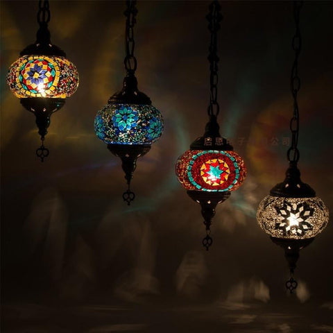 Hand Made Stained Glass Lamps