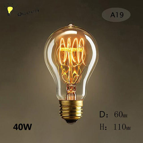 decorative edison bulb