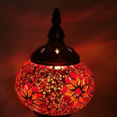 Hand-Made Stained Glass Lamps
