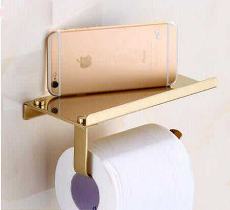 luxury toilet paper plate cell phone holder