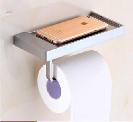 Luxury TP & Cell Phone Holder
