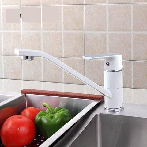 White traditional Faucet