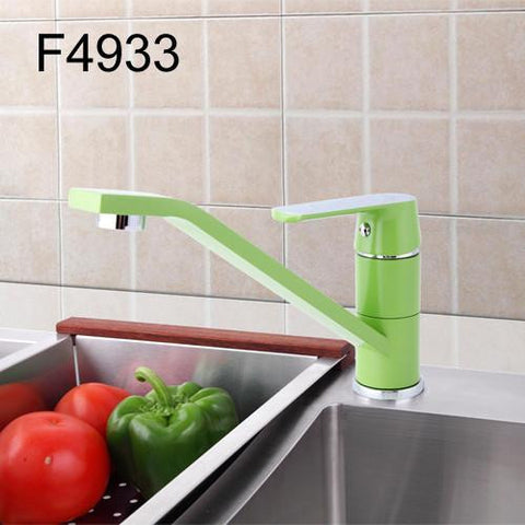 Green Traditional Faucet