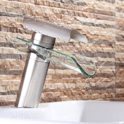Barracuda: Gorgeous Modern Faucet in Nickel & Chrome