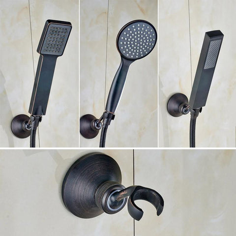 Oil-Rubbed & Bronzed Shower sprayers