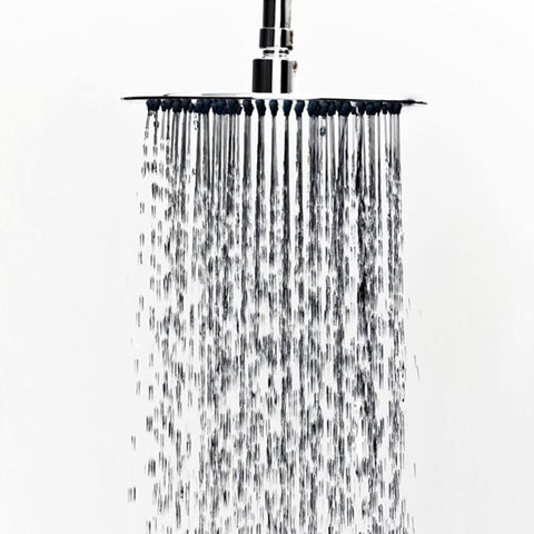 Ultra-Thin Round Rainfall Shower Head