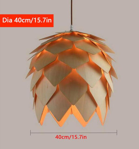 Unique Pine cone Artichoke Lamp