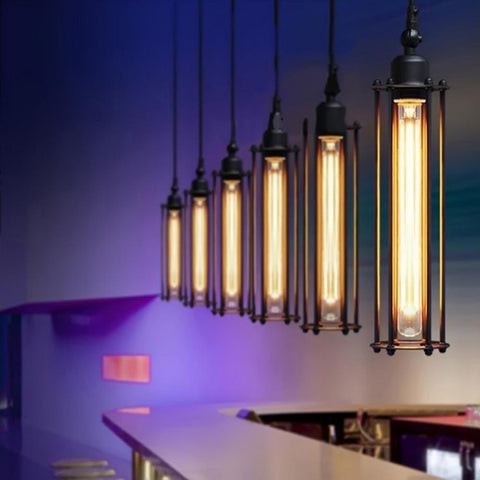 Industrial Edison Ceiling Lamps