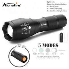 High-Quality Aluminum Alloy Flashlight