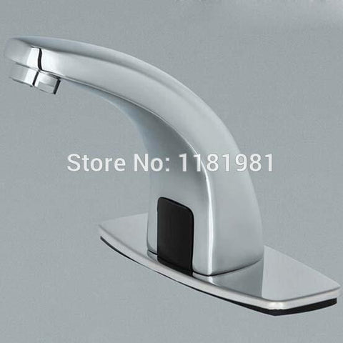 hands-free automatic faucet