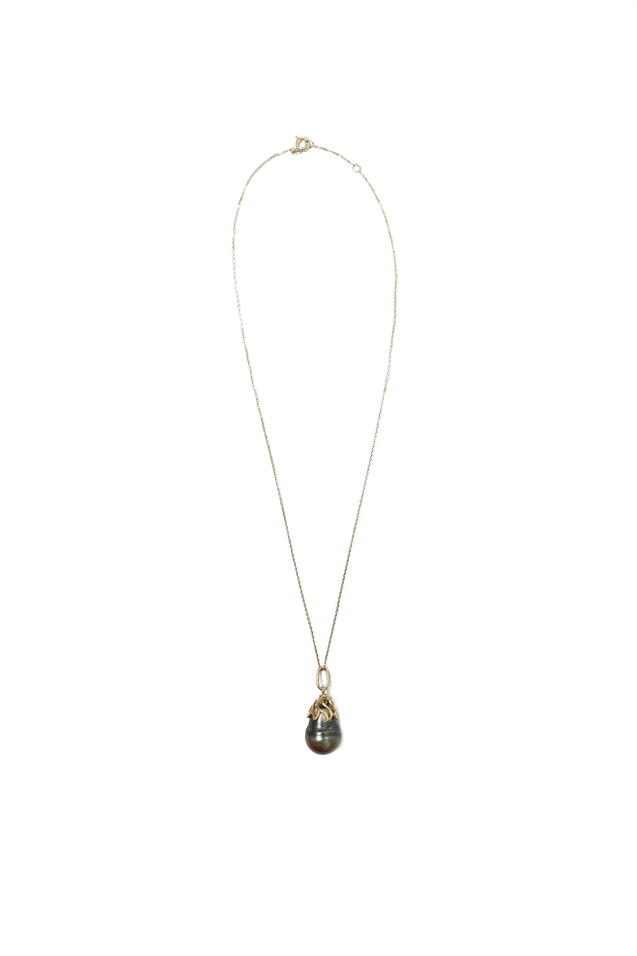 Cultured Tahiti Pearl Drop