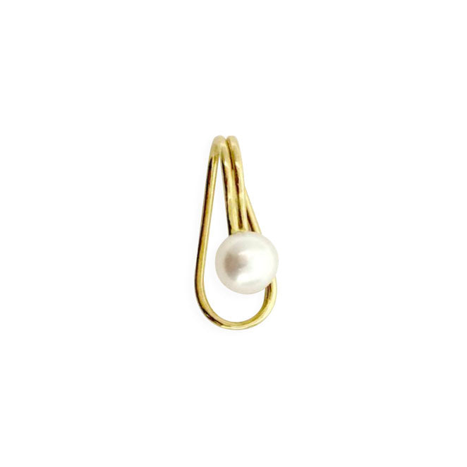 ATTACH CULTURED PEARL CLIP