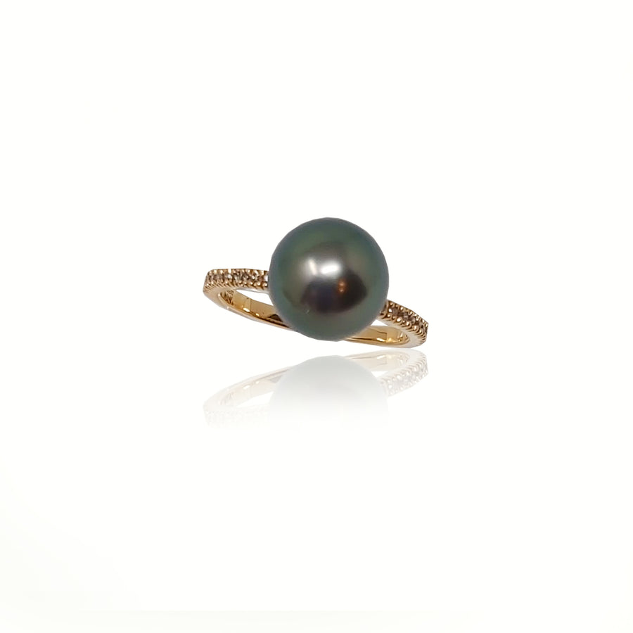 Simple Pearl Ring 2
