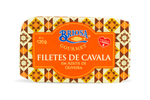 Spiced mackerel fillets in olive oil | Filete de cavala picante