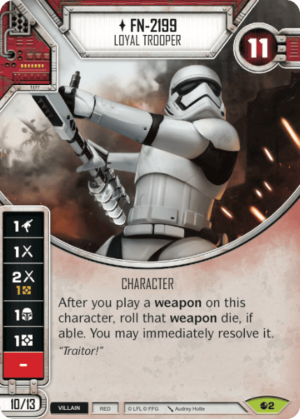 FN-2199 - Loyal Trooper | Game Haven
