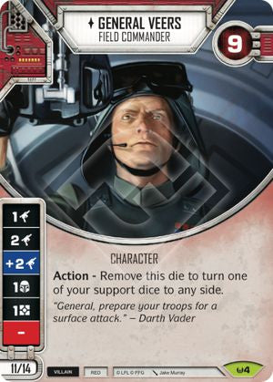 General Veers - Field Commander