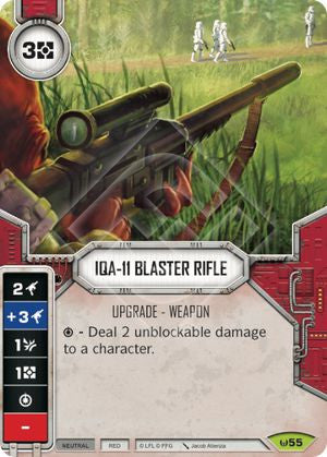 IQA-11 Blaster Rifle | The Game Haven