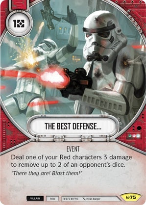 The Best Defense... | Game Haven