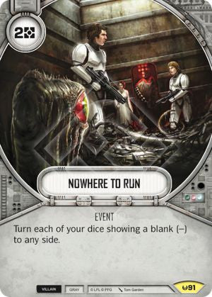 Nowhere to Run | Game Haven