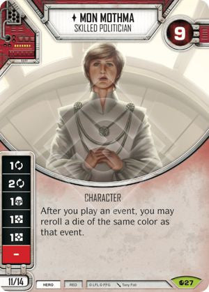 Mon Mothma - Skilled Politician | Game Haven