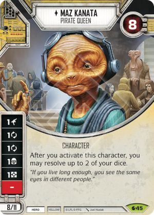 Maz Kanata - Pirate Queen | The Game Haven