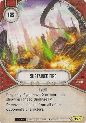 Sustained Fire | Game Haven