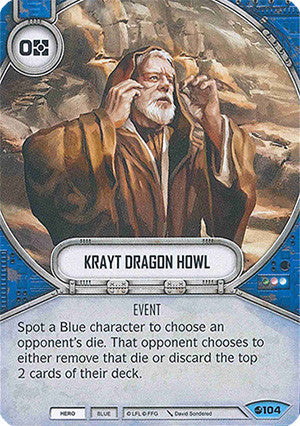 Krayt Dragon Howl | Game Haven