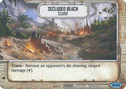 Secluded Beach - Scarif | The Game Haven