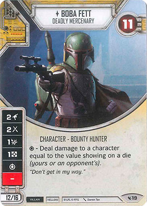 Boba Fett - Deadly Mercenary (2-Dice)