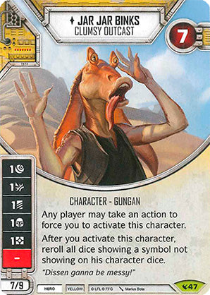 Jar Jar Binks - Clumsy Outcast | Game Haven