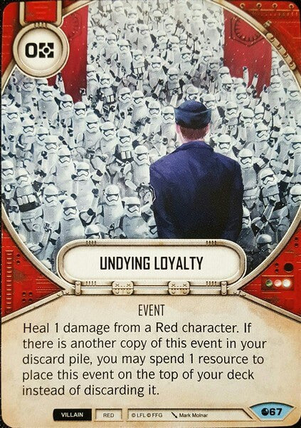 Undying Loyalty
