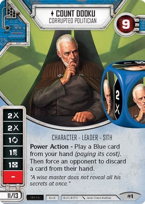 Count Dooku - Corrupter Politician